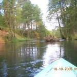 Spływ kajakowy Parsętą