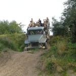 20 Jazda terenowa atrakcje kajtur URAL Chełm Gryficki
