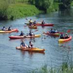 Spływy kajakowe Parsętą