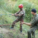 zajęcia linowe, szkolenia alpinistyczne