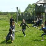 walka na miecze - bokeny