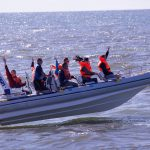 szybka łódź RIB