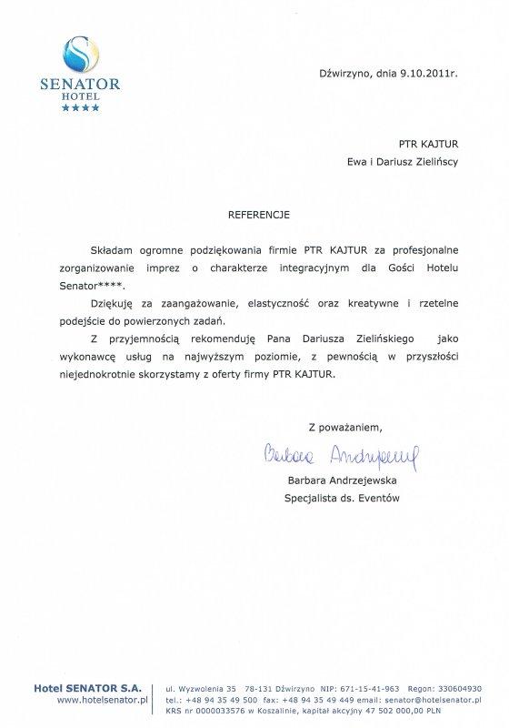 HOTEL SENATOR Dźwirzyno