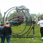 żyroskop - trenażer skoczków spadochronowych