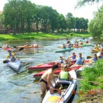Spływy kajakowe regą Trzebiatów (3)