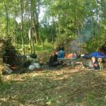 survivall - nocleg w szałasach