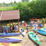 Spływy kajakowe regą Łobez (4)