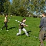 walka na miecze