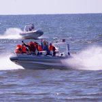 szbkie łodzie RIB impreza integracyjna nad morzem