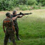 strzelanie z broni ostrej