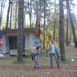 Paintball laserowy nad morzem